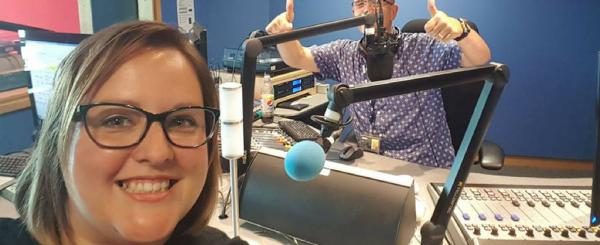 BBC Radio Leicester interview on 'skills shortage' image