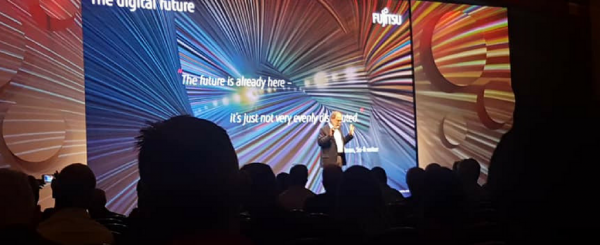 Diversity, education and digital top discussions at Fujitsu World Tour image