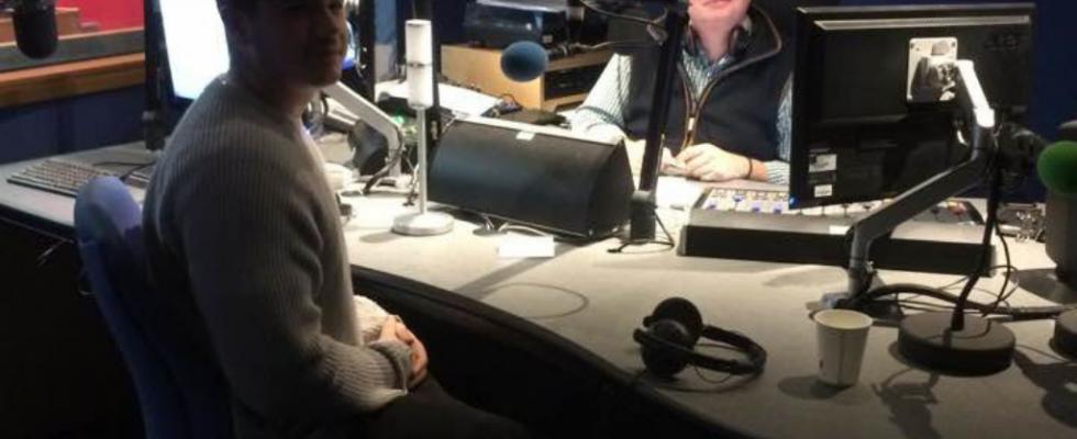 Hidden Talent interview on BBC Radio Leicester image