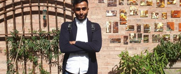 Meet our intern – Adil image