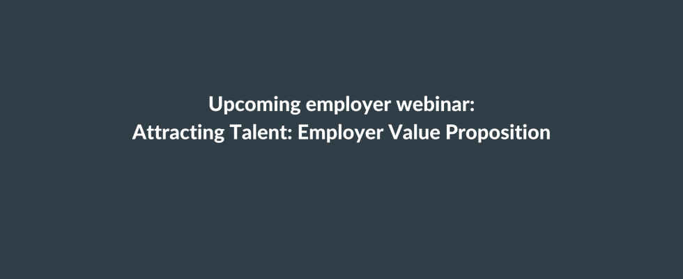 "Employers invited to ""Attracting Talent"" webinar featuring a spotlight on the social care sector image"